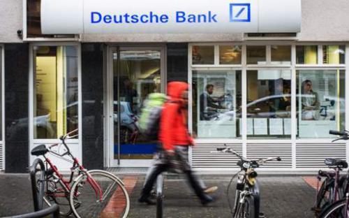 Φόβοι για τη «φούσκα» της Deutsche Bank - Sell Οff